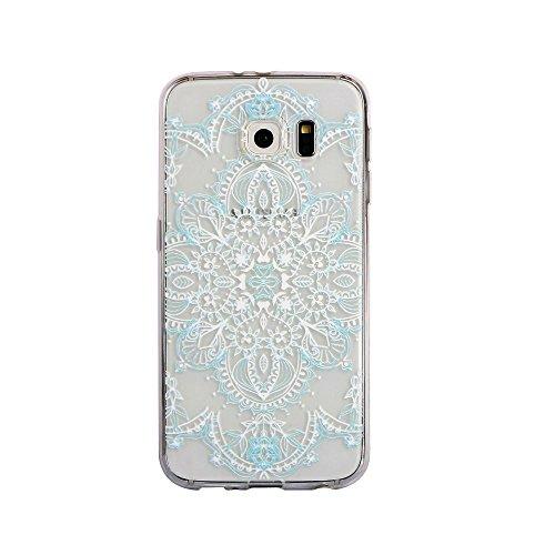 Zhinkarts Mandala Color Case Style Handy Schutz Hülle TPU Silikon Nokia Lumia 730 Color M2