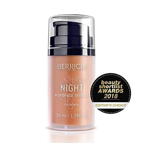 Anti Aging Nachtcreme mit Retinol | Frauen & Männer Nachtpflege/Creme für trockene Haut & Mischhaut | Natürliche Bio Gesichtscreme mit Superantioxidans Astaxanthin & 5 Ölen | Naturkosmetik Vegan -