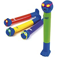 Zoggs Children's Zoggy Sinking Dive Sticks Pool Toy and Game