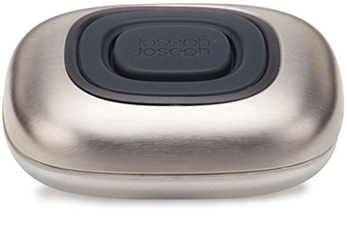 Joseph Joseph SmartBar Refillable Liquid Soap Bar, Grey