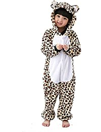SAMGU Unisex Pijama Animal Disfraz Niños Ropa de dormir Kigurumi Nightwear Cosplay