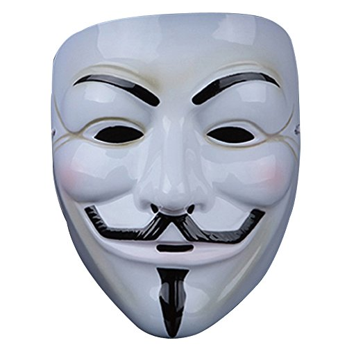 Guizen Máscara/ Careta de V para Vendetta Mask/Anonymous/Guy Fawkes m