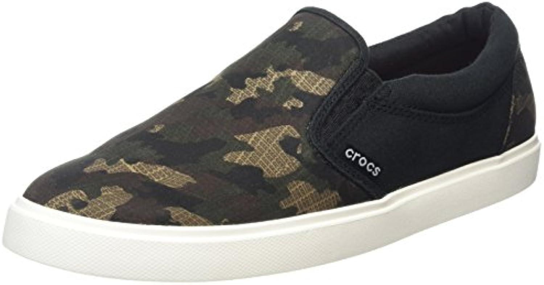 crocs Herren Citilane Graphic Slip on Sneaker Low Top