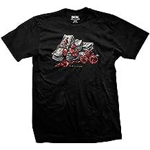 DGK Men'S Love Of Money T Shirt Black