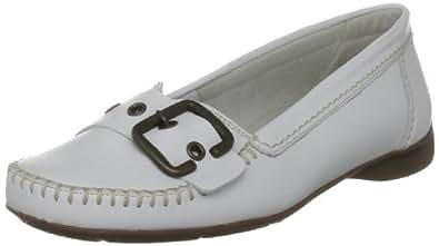 Gabor Shoes Comfort 4252250, Damen Ballerinas, Weiss (weiss/Naht beige(na), EU 35 (UK 2.5)