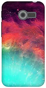 The Racoon Lean wonderful stars hard plastic printed back case for Asus Zenfone 4 A400CG
