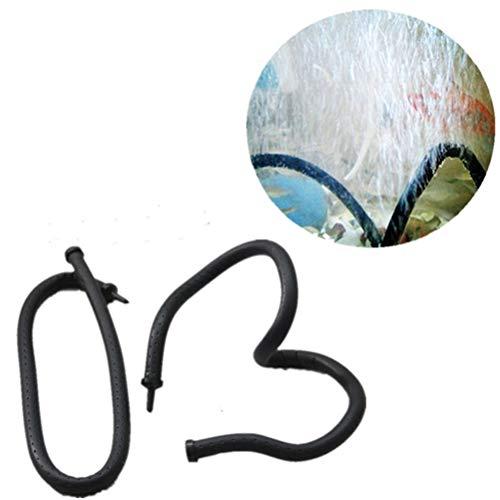 POPETPOP 105cm Aquarium Luftpumpe Aquarium Sauerstoff Blase Schlauch Soft Bar Airline Schlauch Aquarium Zubehör für Aquarien und Hydrokultur-Schwarz - Hydrokultur-luft-schlauch