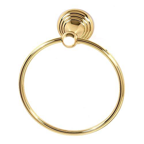 Pb Handtuch (Alno a9040-pb Botschaft Handtuch Ring)