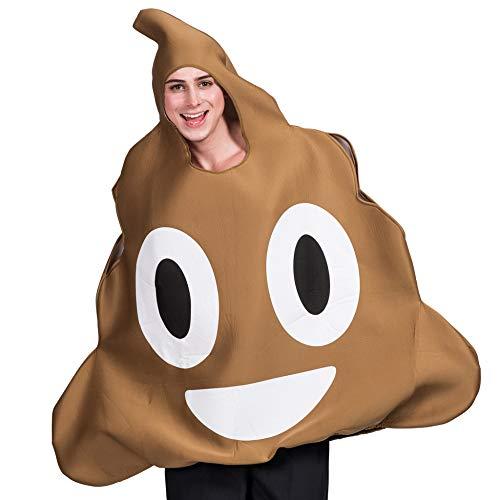 LBAFS Halloween Bühne Kostüm Parodie Lustige Poop Ausdruck Cosplay Kleidung Requisiten Für Erwachsene,A