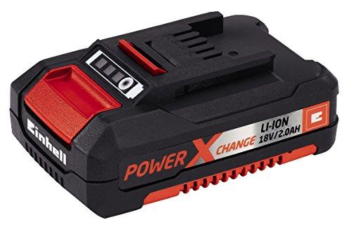 Einhell Akku Rasenmäher GE-CM 33 Li Power X-Change (Lithium Ionen, 18 V, bis 200 m²,  5-stufige Schnitthöhenverstellung, inkl. 2 x 2,0 Ah Akku und 2 x Ladegerät) -