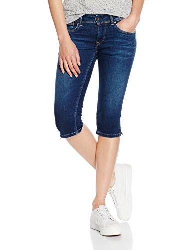 Pepe Jeans Saturn Crop, Pantaloncini da bagno Donna, Blu (Denim 000-z65), 40 (Taglia Produttore: 30)