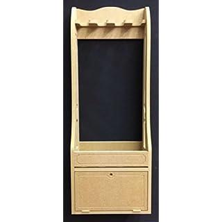 Gun Rack Vertical Freestanding Gun Cabinet for 4 Guns With Lockable Cupboard