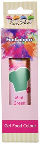FunCakes Edible FunColours Gel - Mint grün, 5er Pack (5 x 30 g)