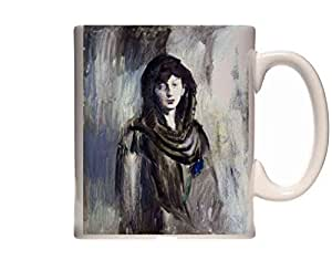 Mug Picasso Fernande Modernism Ceramic Cup Gift Box