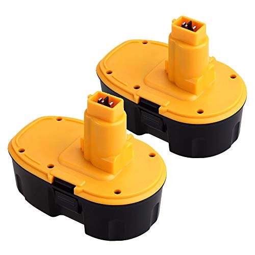 2 Packs Boetpcr 18V 3000mAh Ni-MH Reemplazo para Dewalt Batería DC9096 DE9096 DE9039 DE9095 DE9098...