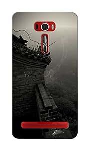 CimaCase China Wall Designer 3D Printed Case Cover For Asus Zenfone 2 Laser ZE601