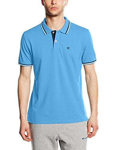 Champion Herren Polo, Dark Forest Green, XL, 209599_S16 Malibu Blue