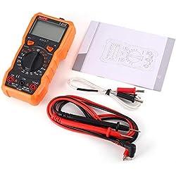 Elviray Owon VDS1022 Osciloscopio Portátil 25 MHz 2 + 1 Canales Registro USB Generador de Forma de Onda Multímetro Espectro
