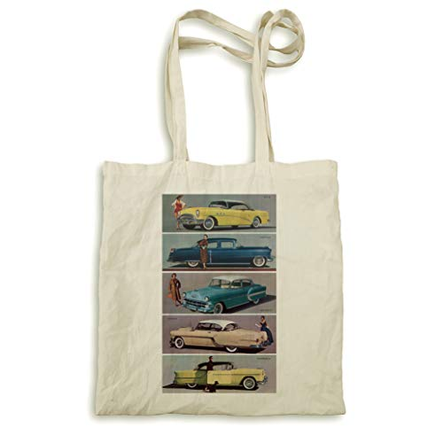 American Cars 1954 Natural Handtasche -