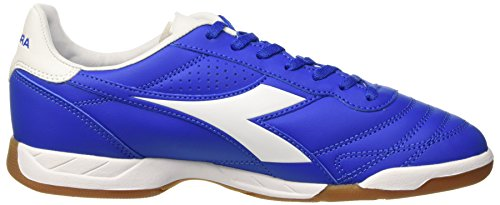 Diadora Brasil R Id, Chaussures de Football Homme Blu (Azzurro/Bianco)