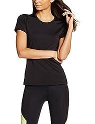 IRIS & LILLY Camiseta Técnica de Deporte para Mujer