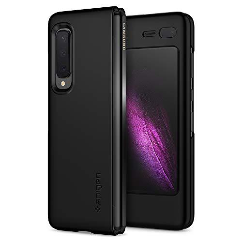 Spigen Cover Galaxy Fold Thin Fit Progettato per Samsung Galaxy Fold Cover Custodia - Nero