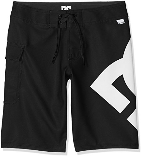 DC Shoes Jungen Lanai 17 Zoll Boardshorts, Black, 26/12 - Dc-boardshorts