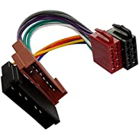 AERZETIX: Adaptador cable enchufe ISO AA3 para autoradio C1927