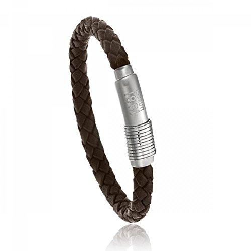 cerruti-1881-steel-leather-bracelet-brown
