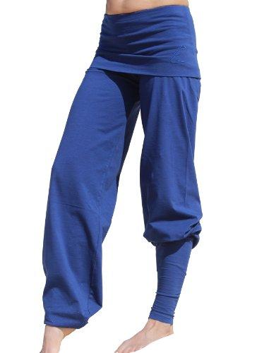 Esparto Yoga Pantaloni Sooraj–Das Original in cotone biologico Sunset-Rot