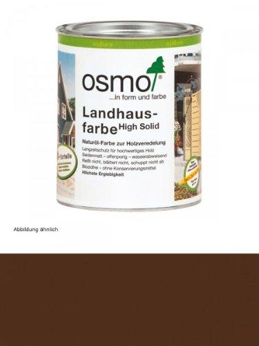 Osmo Landhausfarbe Dunkelbraun (2607) 750 ml