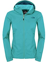 The North Face Quest W – Chaqueta impermeable, turquesa, medium