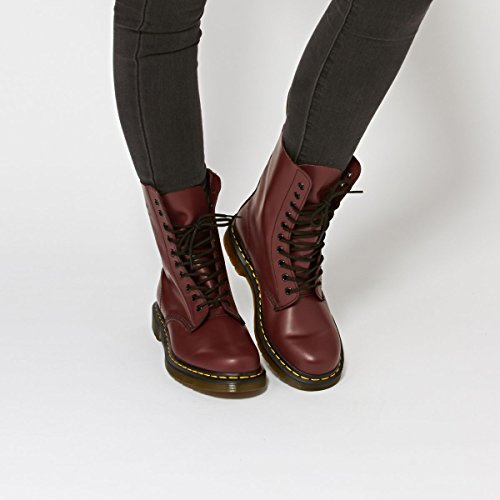 Stiefel 1490z Erwachsene Rot Dr Martens Unisex 8OAqxqpI