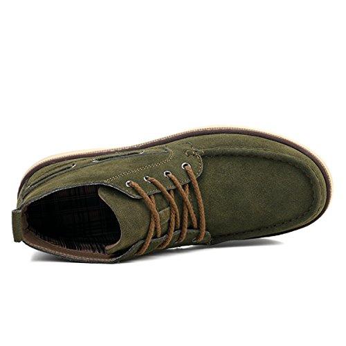 Miyoopark , Chaussures bateau pour homme green