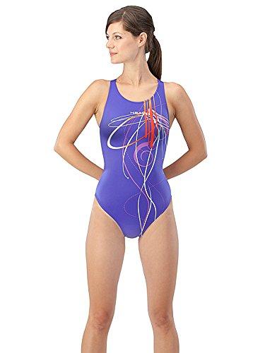 Head Twirl Traje de Baño Olimpico, Mujer, 48