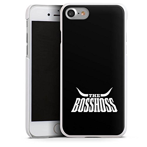 Apple iPhone 5c Silikon Hülle Case Schutzhülle The BossHoss Fanartikel Merchandise Hard Case weiß