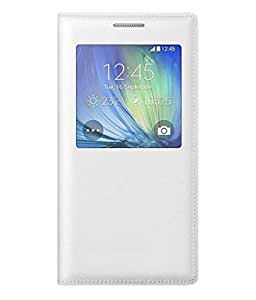 OIR Flip cover for Samsung Galaxy ON 7 -White