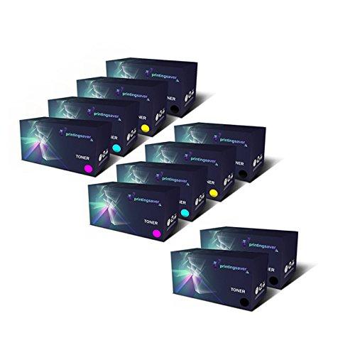 10 Premium Toner kompatibel zu 106R01630 106R01627 106R01628 106R01629 für Fuji Xerox DocuPrint CP105B CP205 CP205W CM205B CM205FW CM205F CP215W - Xerox Fuji Laser-drucker