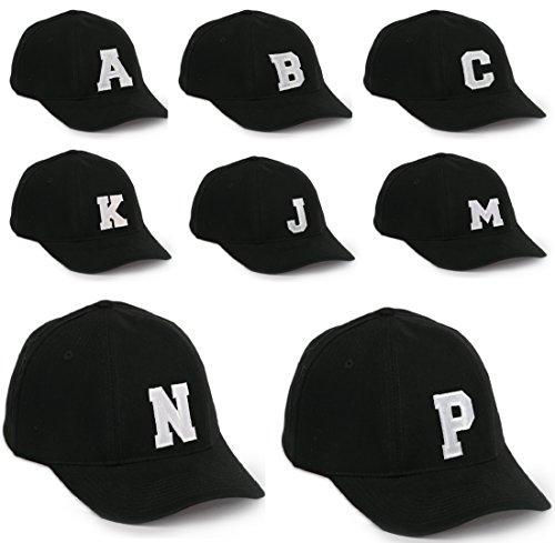 Bonnet Chapeau Casquette Snapback Baseball Alphabet letters A-Z Hip-Hop Snap Back