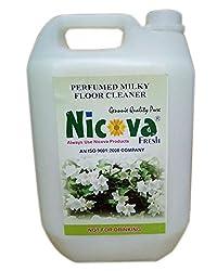 Nicova Fressh Perfumed Milky Floor Cleaner (5 Ltr)