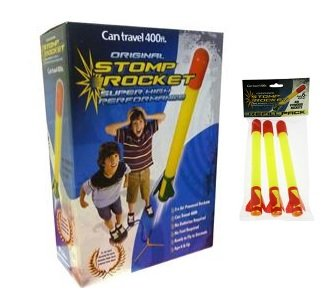 Super Stomp Rocket Kit With Refill Accessory 3