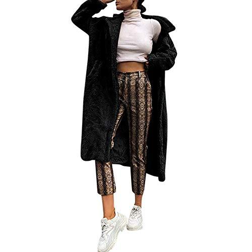 Preisvergleich Produktbild Soupliebe Frauen Pelz Langen Mantel Langarm Pullover Winter warme Mantel Frauen Dicke Oberbekleidung Jacken Mäntel Sweatjacke Winterjacke Fleecejacke Steppjacke