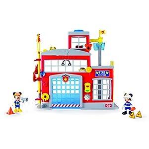 IMC Toys- Mickey Mouse Clubhouse Minnie Caserma Pompieri, Multicolore, 184534MM2 2 anni LEGO