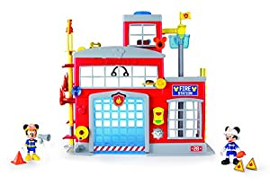 IMC Toys 181939 - Estacion de bomberos ¡al rescate! mickey