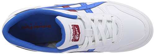 Onitsuka Tiger Aaron D3D1N Baskets pour homme Blanc - Weiß (white 0142)