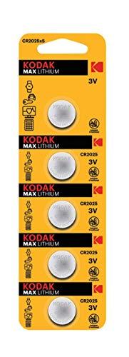 Oferta de KODAK Piles Bouton Ultra Lithium CR2025 3V batterie - Vendu par Lot de 5