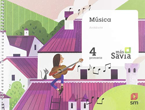 Música 4 Primaria Más Savia Andalucía