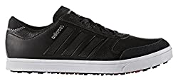 Adidas Mens Adicross Gripmore Sport 2 Golf Shoes, Men, Men, Adicross Gripmore 2, Black White, 14