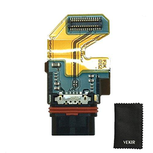 VEKIR USB Ladegerät Port Flex Cable Replacement kompatibel mit Sony Xperia Z5 E6603 E6653 Retail Verpackung