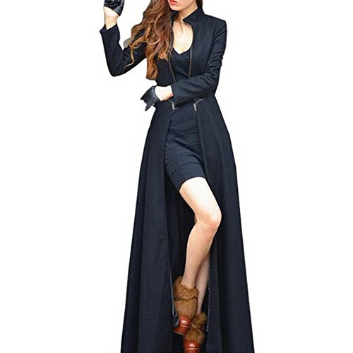 Vogholic Womenu0027s Floor Length Long Trench Winter Coat